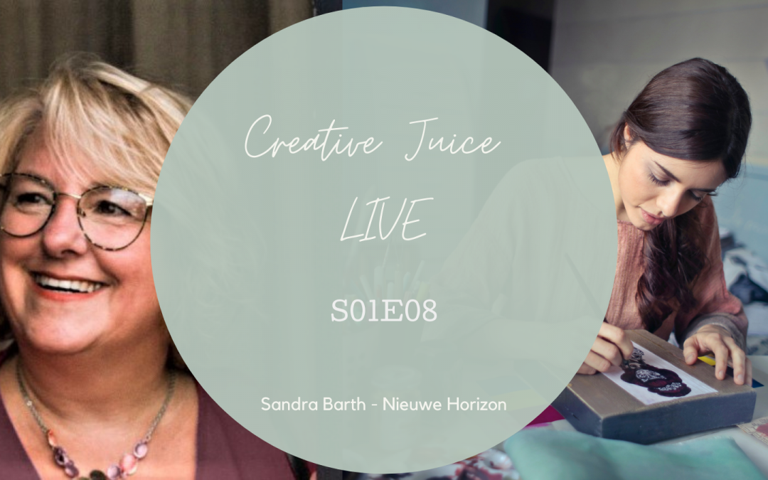 Creative Juice LIVE S01E08: 3D Pop Up en Summer Art Journey