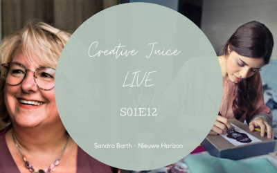 Creative Juice LIVE 1.12 Interview met Sandra Bucher